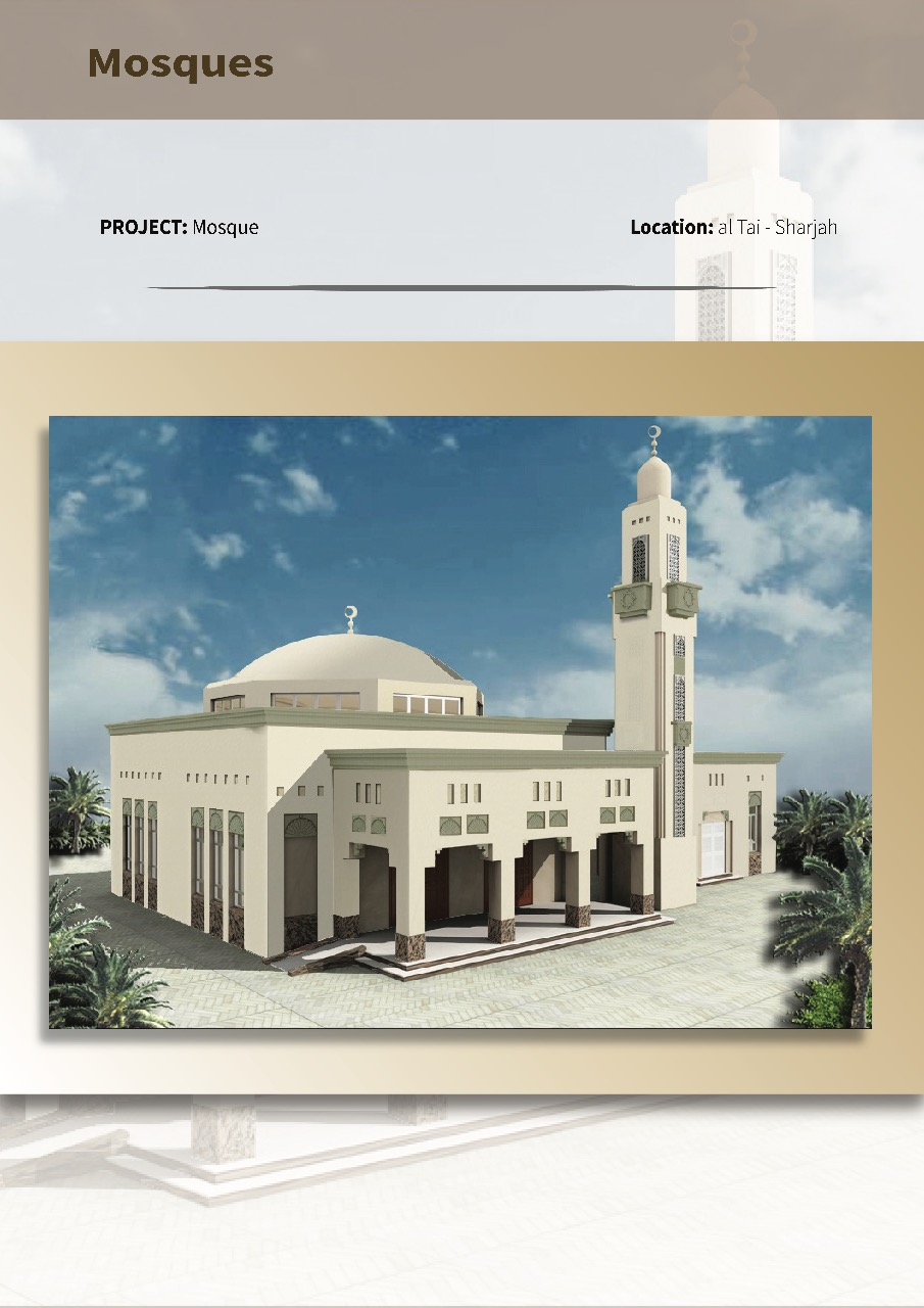 ongoing mosque corrected